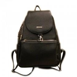 Plecak skórzany Pl-187(czarny)